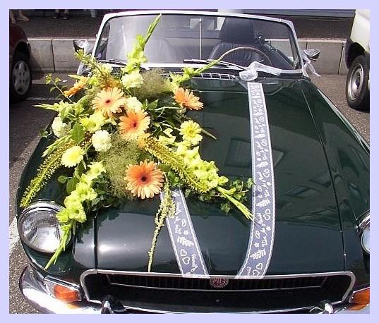 Decoration voiture mariage strasbourg id es et d - Decoration voiture mariage sans fleur ...